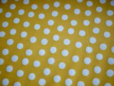 Stoff Regenjacke, Regenmantel, beschichteter Stoff, Polka Dots, Tupfen, gelb