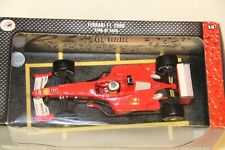 1/18 HOT WHEELS FERRARI F1-2000 MICHAEL SCHUMACHER KING OF RAIN , SEALED