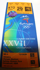 Ticket Olympic games Sydney 2000 Athletics 29.09 Korzeniowski Poland