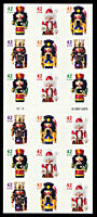 Nutcracker ATM Booklet Pane of 18 #4371b (4368-71) Mint NH $38.00 Retail Value