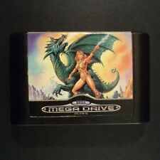 ALISIA DRAGOON Sega Mega Drive UK PAL English・♔・PLATFORM cart only GAME ARTS MD