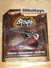 Hot Wheels 1:50 VEHICLES: 1966 BATMAN TELEVISION BATCOPTER X3081 New