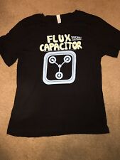 Misses Size Large Back To The Future Flux Capacitor T-Shirt