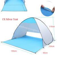 Anti UV Pop Up Beach Automatic Tent Folding Sun Shelter Outdoor Hiking Easy Use