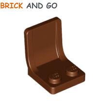 4 x LEGO 4079 Siège Chaise Fauteuil (marron, brown) Seat 2x2x2 NEUF NEW