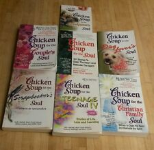 Lot of 7 Chicken Soup for the Soul Books! All Paperbacks in this CLASSIC Series