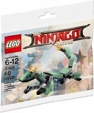 LEGO 30428 The LEGO Ninjago Movie Green Ninja Mech Dragon NEW & Sealed Polybag