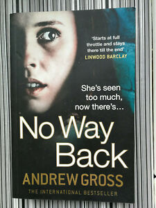 No Way Back By Andrew Gross Large PB Like New Crime Thriller Free Postage