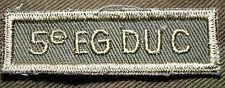 "CANADIAN ARMY COMBAT TAB UNIT BADGE ENGINEER INSIGNIA ""5e EG DU C"" 4 FOR $1 MIX"