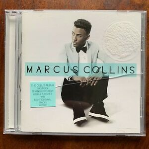 Marcus Collins CD Self-Titles Mâle Vocal Rock Pop Album