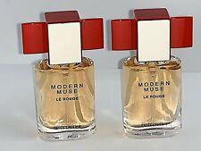 Estee Lauder Modern Muse Le Rouge 2 pc Mini Perfume Purse Spray  2 x 0.14 oz