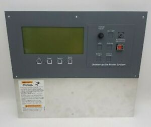 Liebert 02-790890-50 Uninterruptible Power System Screen Display TW2294V-0 Used