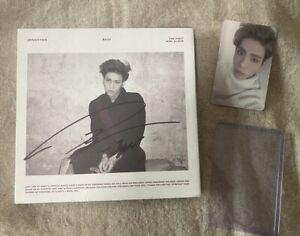 SHINEE Kim Jonghyun Base autographed album limited K-POP White Rare