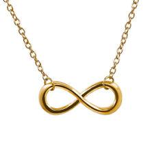 Women's Pendant Choker Necklace Infinity Figure 8 Necklace  Chain Necklace