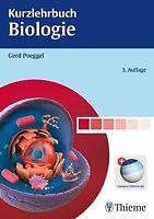 Kurzlehrbuch Biologie von Poeggel, Gerd | Buch | Zustand akzeptabel