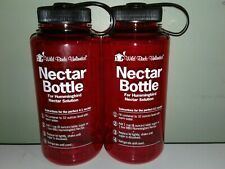 (2) Wild Birds Unlimited Nectar Bottle for Humming Bird Solution