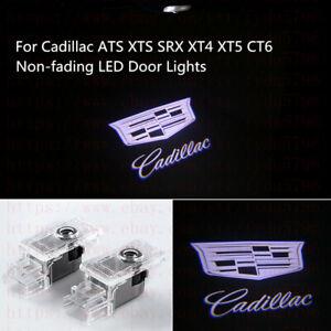 Non-Fading Cadillac LED PROJECTOR LIGHTS HD LOGO ACCESSORY CAR DOOR LAMP SERIES