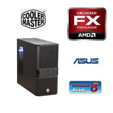 AMD FX-4100 QUAD CORE CPU ASUS MB 8GB DDR3 MEMORY RAM BAREBONES COMPUTER PC KIT