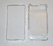 Motorola Droid X MB810 Crystal Hard Plastic Case CLEAR