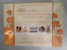34 Hallmark Handmade All-Occasion Greeting Cards + 7 Gift EnclosuresItem 203001