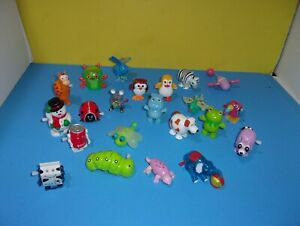 WindUp Friction Toys Lot of Hans Animal Figures Milk Cola w/ Tomy Jumping Mouse
