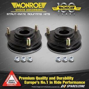 Front Monroe Top Strut Mount Kit for Saab 9-3 Gen II 1.8 1.9 2.0L 03 - 12