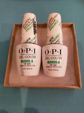 OPI GEL COLOR PRO HEALTH TOP COAT - 2 QTY