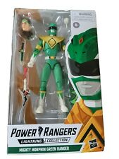 Power Rangers Lightning Collection Figure Wave 7 Green Ranger MMPR Mighty Morphi