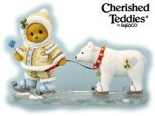 CHERISHED TEDDIES 2013 FIGURINE, CADEN, ESKIMO, POLAR, SNOW, WINTER, 4035946 NIB