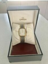 Omega Deville Quartz Watch Cal 1378 Gold Plate and Steel with box and papers