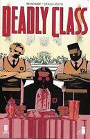 Deadly Class Comic Issue 39 Modern Age First Print 2019 Rick Remender Craig Boyd