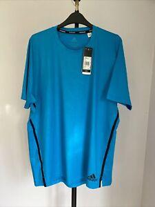 Adidas Prime Blue T Shirt Large