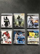 PS3 Sports / First Person Shooter 6 Pack