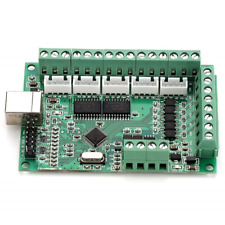 Mach3 Usb Interface Cnc Motion Control Card Breakout Board Controller With