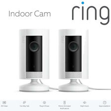 RING Indoor Cam x2 Compact Camera 1080p HD Live View Night Vision Two Way Audio