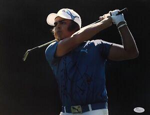 RICKIE FOWLER SIGNED 11X14 PHOTO JSA #U12611 Golf PGA