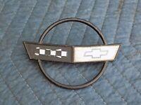 Front Hood Emblem w/ Nuts OEM 1989 C4 Corvette