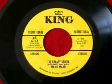 HANK MARR~ THE GREASY SPOON~ PROMO~ ALL MY LOVE BELONGS TO YOU~KING  ~ JAZZ 45