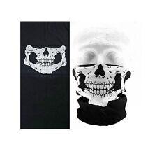 Skull Half Face Bandana Skeleton Cosplay Motorcycle Biker Paintball Mask Scarf