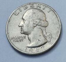 "Pièce de monnaie 1/4 Dollar ""Washington Quarter"" 1967 USA"