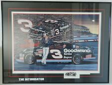 """1996 Dale Earnhardt Sr """"Ready to Rumble"""" Sam Bass signed artist proof 1 of 100"""