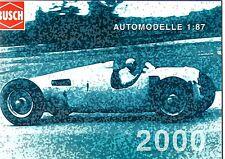 Catalogue Busch Automodelle 2000