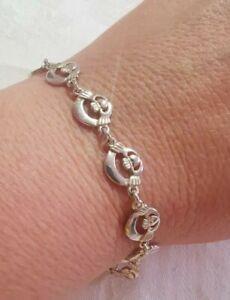 Sterling Silver Claddagh Bracelet