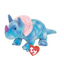 TY Beanie Babies 32072 Pluffies Baby Safe tromps il dinosauro