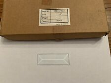 30 Pieces Rectangle 1� X 3� Crystal Clear Beveled Glass New In Box