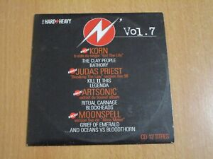 HARD'N'HEAVY 7 - KORN, JUDAS PRIEST, ARTSONIC, MOONSPELL, BATHORY, LEGENDA,.. CD