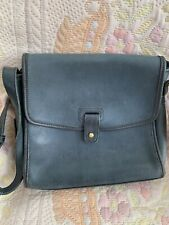 Vintage Coach Cross Body Dark Blue Bag