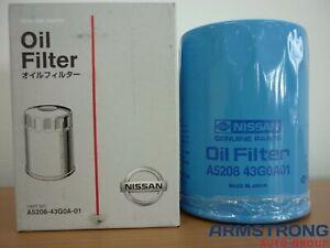 New Genuine Nissan GU Patrol TD42 TD42TI Y61 Oil Filter Navara TD27 A520843G0A01