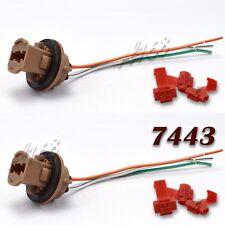 T20 7443 LED Bulb Socket Plug Base Brake Turn Signal Harness Wire Pig Tail 15cm