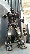 Scrap Metal Transformer Optimus Sculpture 35cm, Handmade from Car Bike Parts